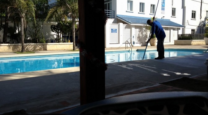 A pool and his patience are soon parted  12-15-12